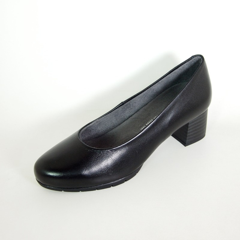 Zapatos Pitillos 6342 Negros para Mujer
